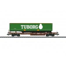 047113 Tuborg Deep Well Flat Car