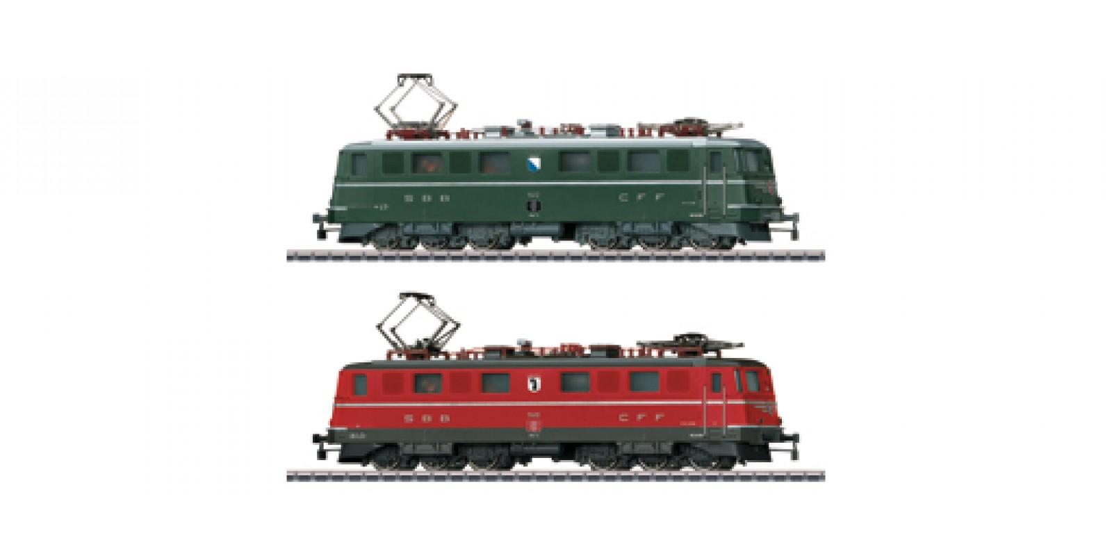 30501 Double Electric Locomotive Set. NEW ITEM 2015.