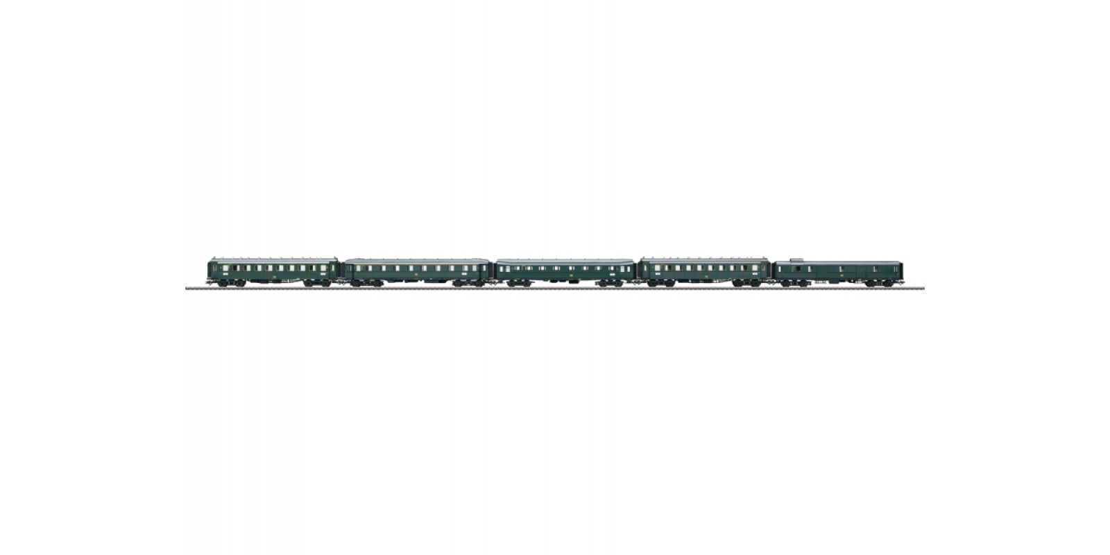 42259 Express Train Passenger Car Set. NEW ITEM 2015.