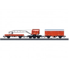 44752 Fire Department Recovery Crane Car Set.
