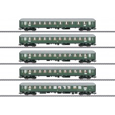 "T23132 ""D96 Isar-Rhône"" Express Train Passenger Car Set 1"