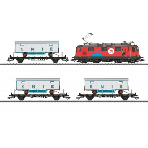 "26615 ""100 Years of the Swiss National Circus Knie"" Train Set"