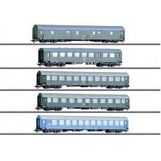 "42982 ""GDR German State Railroad"" Passenger Car Set"