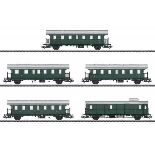 "43141 ""Donnerbüchsen"" / ""Thunder Boxes"" Passenger Car Set"