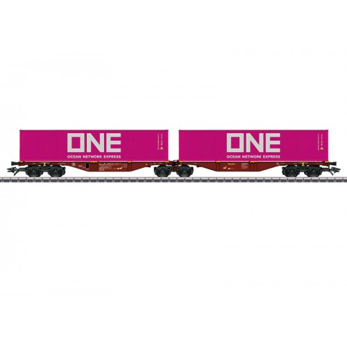 047808 Type Sggrss Double Container Transport Car