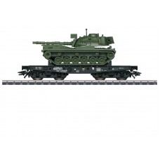 048796 Type Rlmmps Heavy-Duty Flat Car