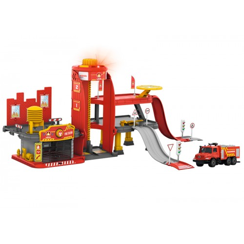 072219 Märklin my world – Fire Station with Light and Sound Function