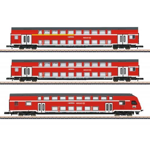87297 DB Regio AG Bi-Level Car Set