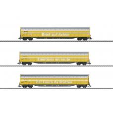 48062 Type Habbiillnss High-Capacity Sliding Wall Boxcar Set