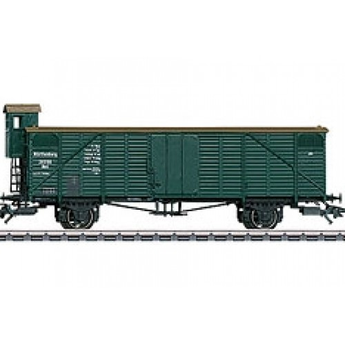 46085_01 type Nml boxcar with a brakeman's cab freight car from Set 46085