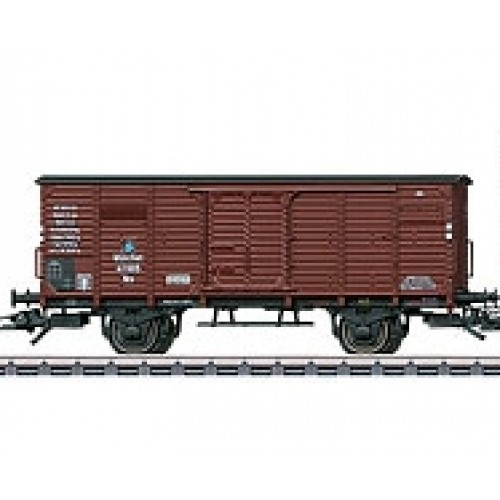 46085_07 One Association design type Nm boxcar without a brakeman's cab.from Set 46085