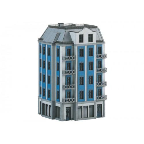 T66308 Building Kit for a Corner City Building in Art Nouveau