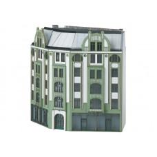 T66309 Building Kit for a Large Corner City Building in Art Nouveau