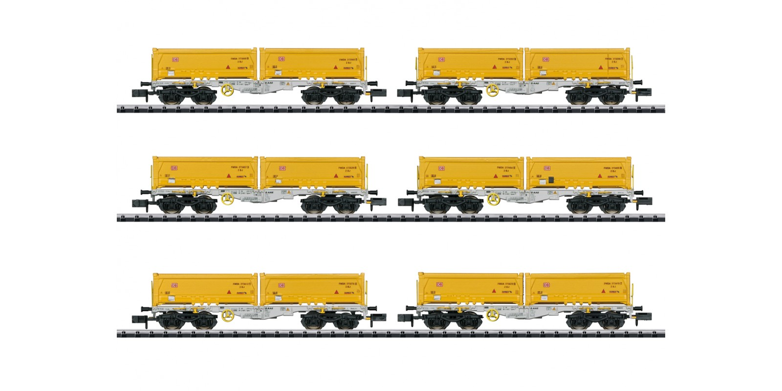 T15075 Container Flat Car Set