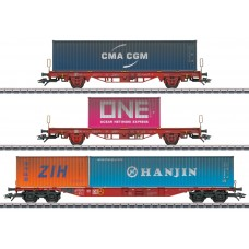47580 Type Lgs 580 Container Transport Car Set