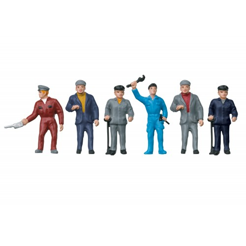 56406 Railroad Maintenance Workers Group of Figures