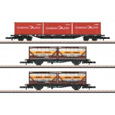82663 Container Transport Car Set