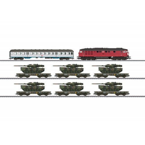 26606 Freight Train with Military Freight for the German Federal Army
