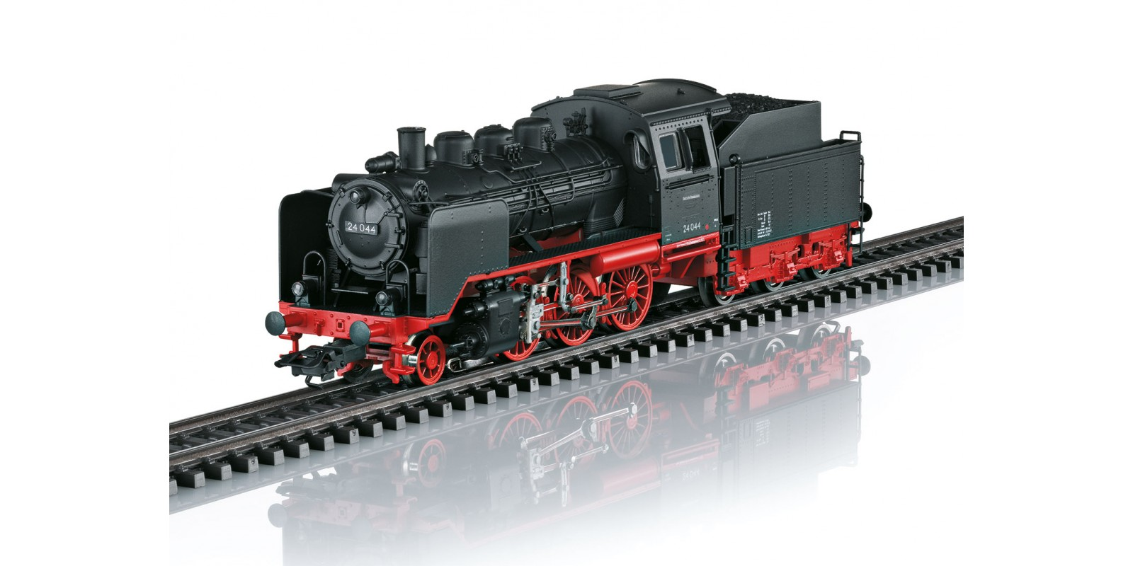 36244 Class 24 Steam Locomotive with a Tender