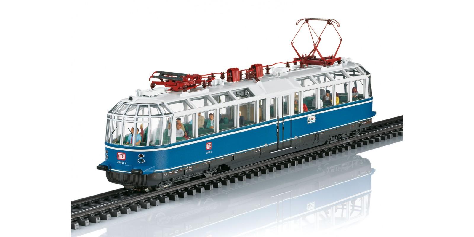 37584 Class 491 Powered Observation Rail Car