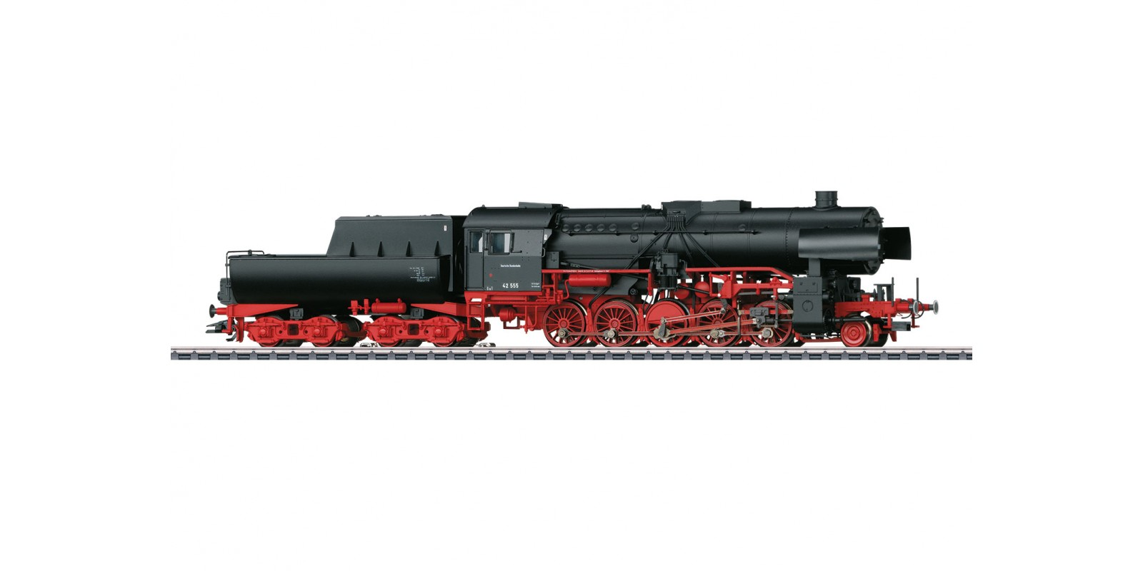 39043 Class 42 Heavy Steam Freight Locomotive with a Tub-Style Tender