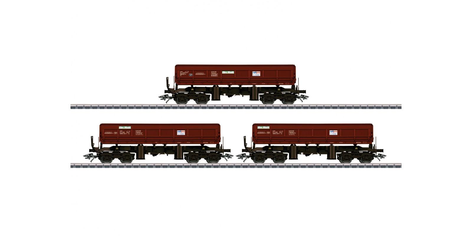 48456 Type Fas 680 Bulk Freight Dump Car Set