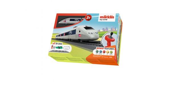"""29306 Märklin my world - """"TGV"""" Starter Set"""