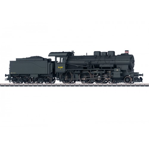 37026 Class Litra T 297 Steam Locomotive with a Tender