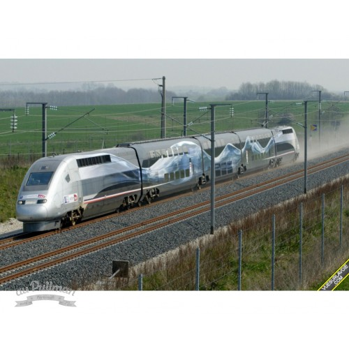 37797 TGV Duplex V 150 High-Speed Train
