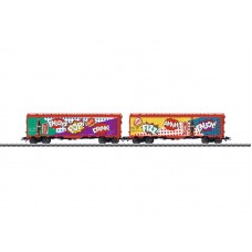 45685 Freight Car Set with Two American Refrigerator Cars