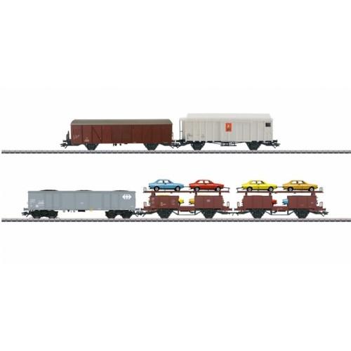 46567  Cargo wagons set for 39567 (Insider 2018)