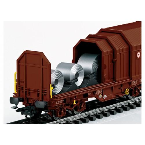 "46874 ""Telescoping Covers Car"" Freight Car Set"