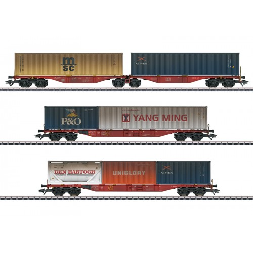 47810 Container Transport Car Set