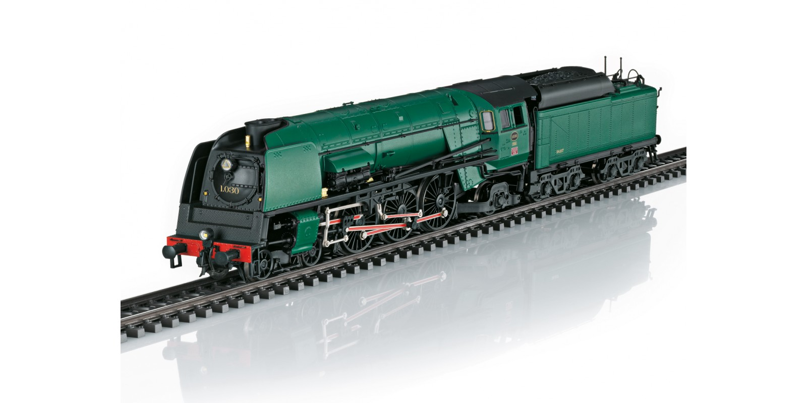 T25480 Dampflokomotive Reihe 1, SNCB, Ep. III