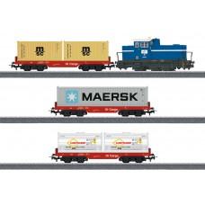 """29453 Märklin Start up - """"Container Train"""" Starter Set"""