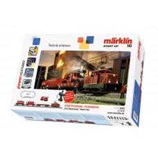 """29722 Märklin Start up - """"Fire Department"""" Starter Set"""