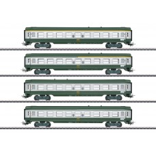 "40691 French ""Tin-Plate"" Express Train Passenger Car Set"