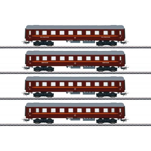 41921 Tin-Plate Passenger Car Set