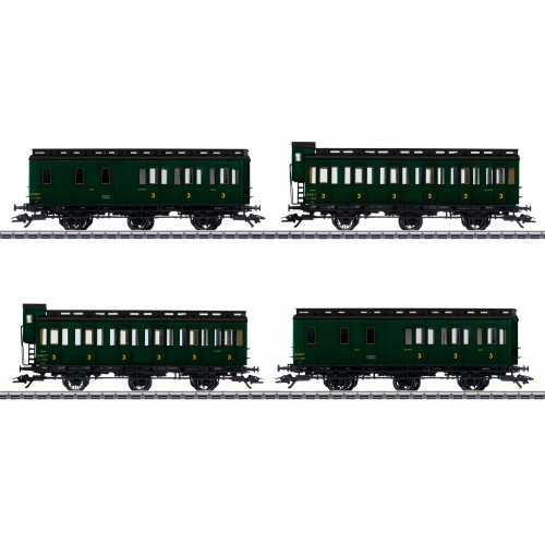 42042 Compartment Car Set