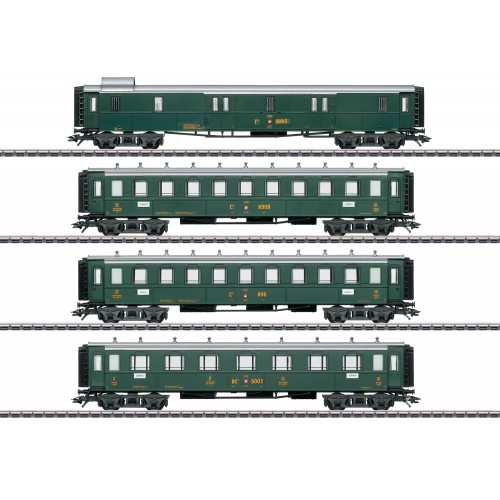 42388 Swiss Old-Timer Passenger Car Set