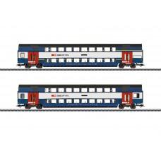 43574 Zürich S-Bahn Bi-Level Car Set