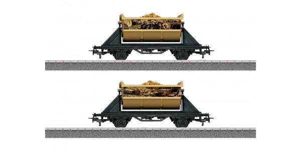 "44822 Märklin Start up – ""Treasure of the Wild 13"" Pirates Freight Car Set"