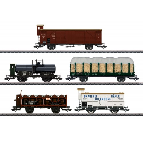 45175 175 Years of Railroading in Württemberg Freight Car Set