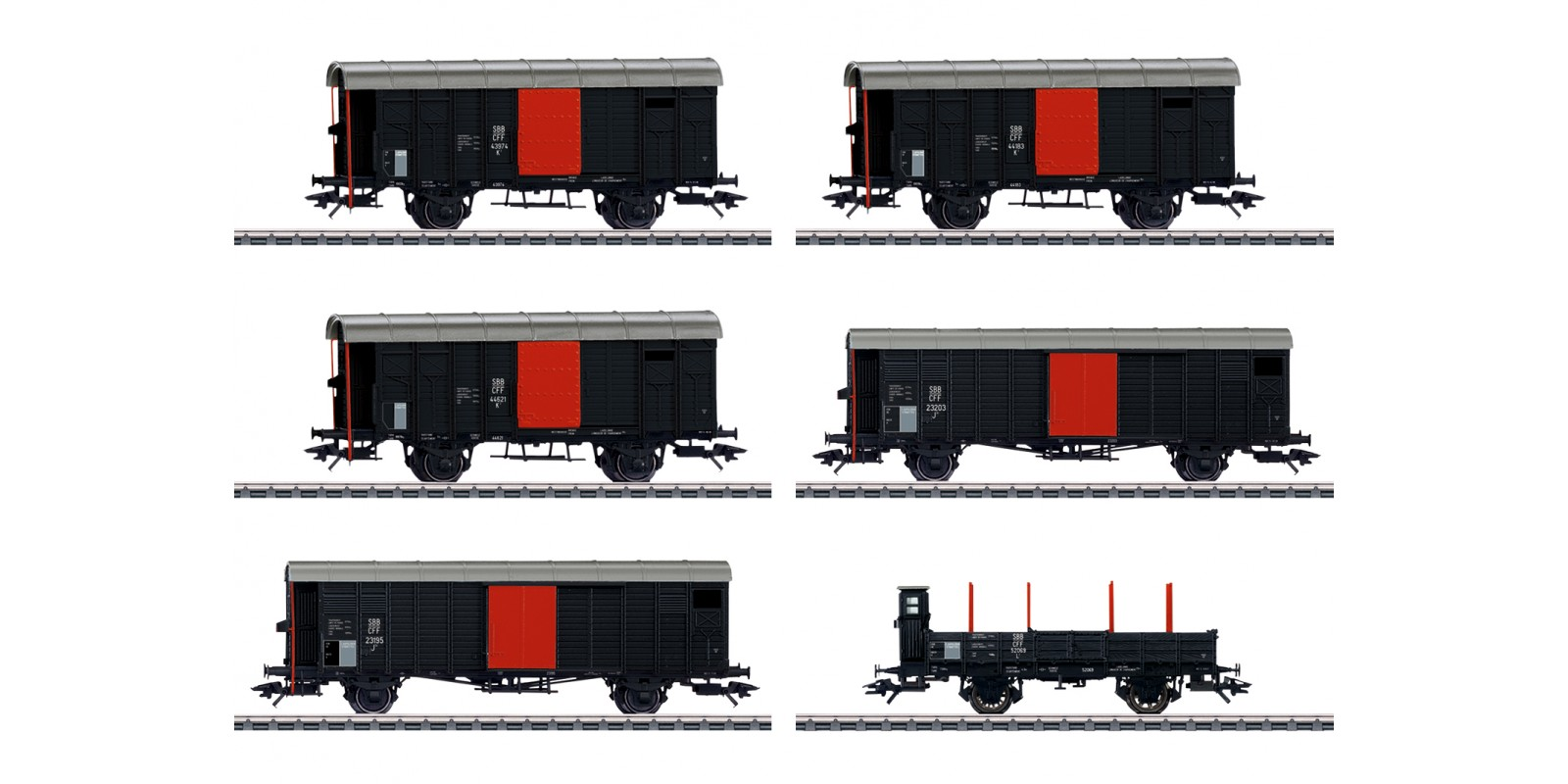 "46050 Freight Car Set for the ""Köfferli"""