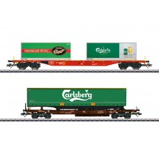 47109 Carlsberg and Tuborg KLV (Combination Load Service) Freight Car Set
