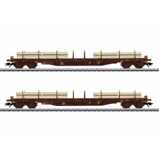 47150 Lumber Flat Car Set