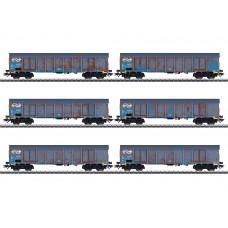 47189 Wood Chips Transport High Side Gondola Set