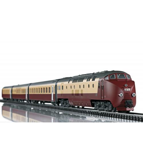T22976 - TEE Diesel Rail Car Train SBB RAm 501 (H0)