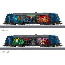 36656 Super Heroes Diesel Locomotiv