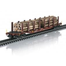 47146 Wood Transport Stake Car Set